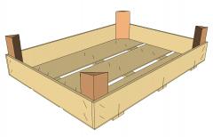 Производство деревянной тары, ящики