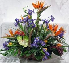 Cosuri cu flori. Livrare cosuri cu flori