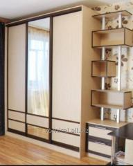 The sliding wardrobes which are built in from