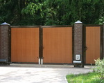 Ворота уличные от  Cvantid SRL