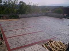 Плитка садовая