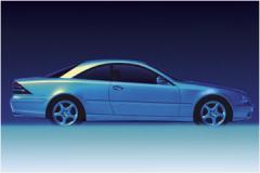 Автомобиль легковой Mercedes-Benz класса CL.