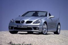 Car automobile Mercedes-Benz of a SLK class