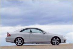 Car automobile Mercedes-Benz of a CLK class