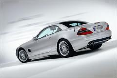 Car automobile Mercedes-Benz of a SL class
