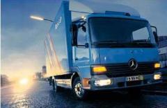 Automobile phones of cargo Mercedes-Benz Ateg
