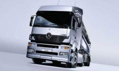 Truck of Mercedes-Benz Axor