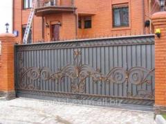 Ворота автоматические распашные