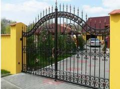 Ворота дизайнерские в Кишиневе