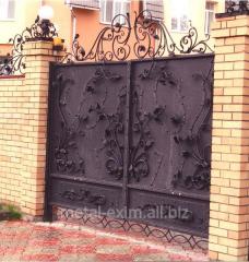 Ворота кованые в Кишиневе