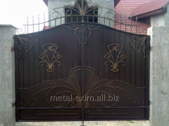 Gate metal garage in Chisina