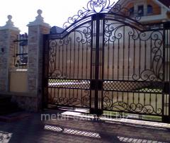 Gate metal oar in Chisina
