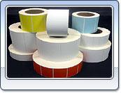 Самоклеющиеся этикетки для штрих-кодов