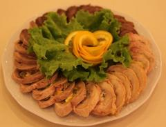 Banquet dishes at YesByGrace restauran
