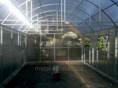 Frameworks of greenhouses in Chisina