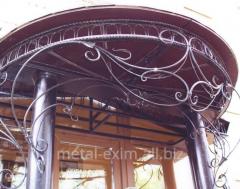 Peaks balcony in Chisina