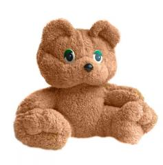 Soft toys, a teddy bear, production of toys in