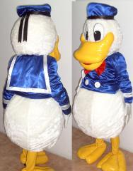 Growth suit Donald Duck
