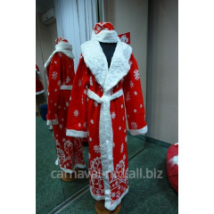 Hire of carnival costumes, sale of carnival