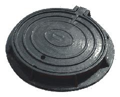 Tapa de registro de hierro fundido
