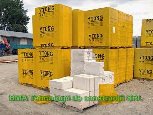 Blocurile din beton celular BCA YTONG Xella
