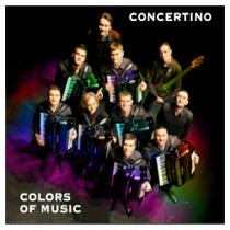 "COLORS of MUSIC"" - CD Concertino, 2011"
