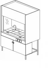 Шкафы лабораторные вытяжные в Молдове