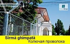 SIRMA GHIMPATA IN MOLDOVA, КОЛЮЧАЯ ПРОВОЛОКА,