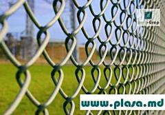 Plasa gard zincat, Grid intaking zinced, welded panels (euro fences)