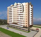 Строительство 10-этажного жилого дома с