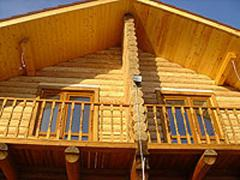 Houses fellings wooden