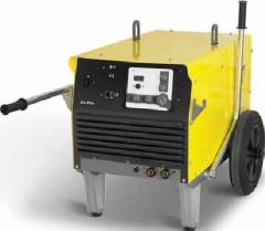 The welding machine for manual arc welding of