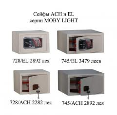 Furniture Ach and El safes of the Moby Light