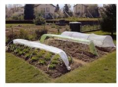 Укрывной материал  для защиты  овощных и других