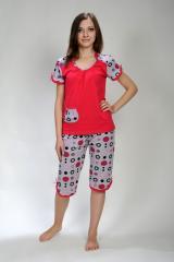 Female pajamas, cotton of 100%, low prices
