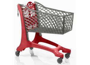 Торговая тележка для супермаркетов Twiga