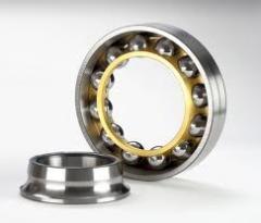 Single ball row bearings