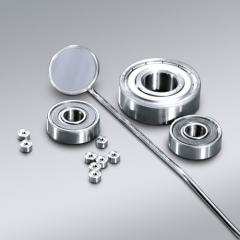 Ball bearings of the small sizes