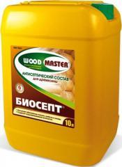 Антисептический пропиточный состав для древесины