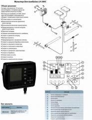 Монитор для комбайна LH 500C