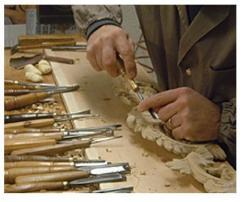 Элементы декора из дерева (ручной работы)