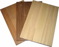 Заготовки мебельные из древесины