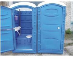 Mobile toilet cabin in Moldova