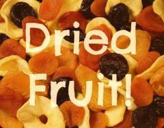 Fructe uscate pentru export: mere, pere, prune