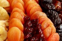 Fruits dried from Moldova