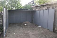 Изготовление металлических гаражей в