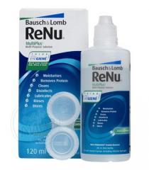 Растворы для ухода за контактными линзами ReNu