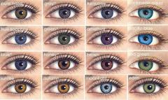 Color contact lenses in Chisina