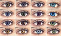 Линзы контактные цветные в Кишиневе