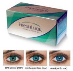 Линзы контактные цветные Freshlook Colorblends в